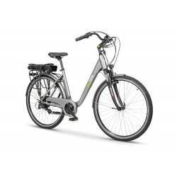 Bicicleta electrica ecobike traffic grey