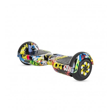 """Hoverboard 6.5"""" con bluetooth y luces LED"""